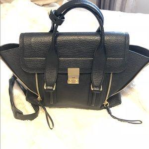 Phillip Lim 3.1 Pashli Medium in black leather